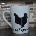 Chicken Whisperer Porcelain Mug-Hand Made