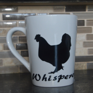 Chicken Whisperer Porcelain Mug-Hand Made