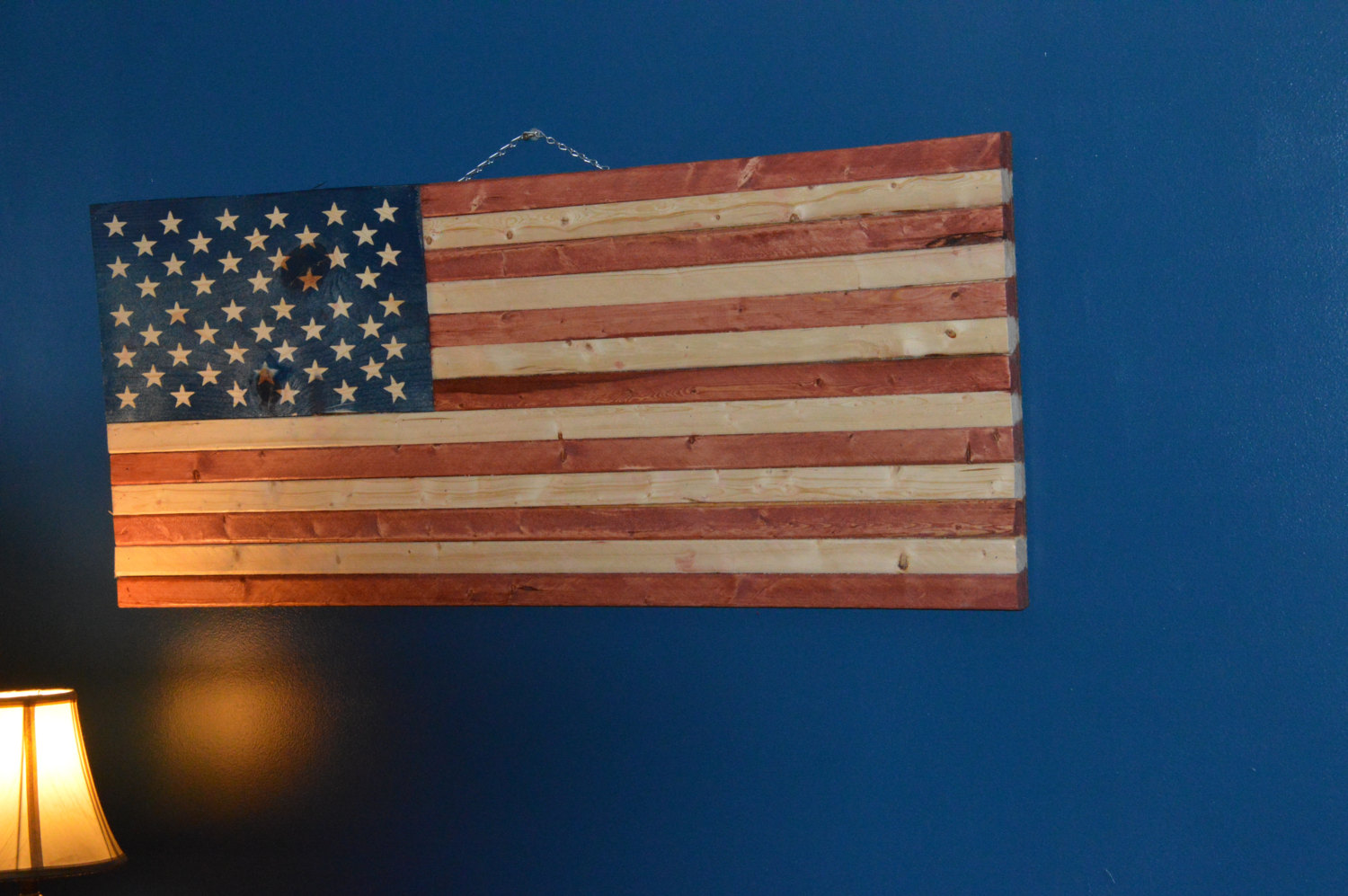 Rustic American Flag, Inexpensive American Flag, American Flag Sign, Weathered American Flag, Wood American Flag, Wall Flag